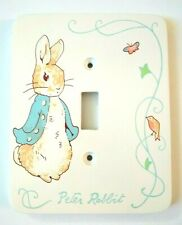 Beatrix Potter Peter Rabbit Light Switch Plate Cover