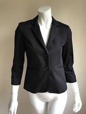 Mint $500 Judith & Charles 4 Black Classic Blazer Workwear Business Suit Tailor