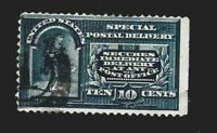 US 1888 Sc# E 4 10 c Special Delivery NSE USED  - Crisp Color