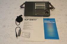 Sony ICF-SW77 Shortwave, SSB, AM/FM World Radio