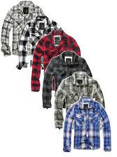 Karierte bequem sitzende Herren-Freizeithemden & -Shirts Brandit