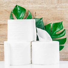 Toilet Paper 30 Roll Pack - 3 Ply Soft White Tissue Jumbo 250 Sheets Per Roll