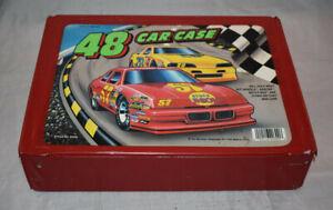 Vintage Tara Toys 48 Diecast Car Case Hot Wheels Matchbox No Cars Included