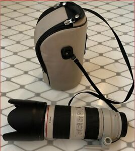 Canon EF 70-200mm f/2.8L IS II Telephoto Zoom Lens USM - Excellent Condition
