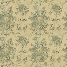 Blue Cotton Linen Ralph Lauren Upholstery Fabric R$128y Brianna Floral Cl Blue