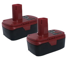 2X FOR Craftsman C3 19.2 Volt High Capacity Lithium-Ion Battery 9-35708 (PP2025)