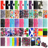 Wallet Flip Leather Case Cover For Samsung Galaxy S3 S5 Neo + Screen Protector
