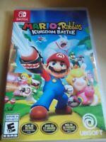 Nintendo Switch Mario + Rabbids Kingdom Battle Game