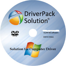 Universal Windows Drivers Pack Disc DVD for Windows 10 8 7 Vista XP 32/64 Bit