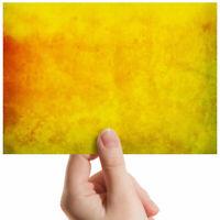 "Distressed Yellow Paint Small Photograph 6"" x 4"" Art Print Photo Gift #3873"