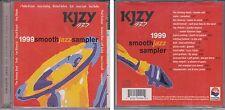 KJZY 93.7 Smooth Jazz Sampler 1999 CD Ray Obiedo Peabo Bryson Alfie Zappacosta