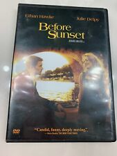 Before Sunset (Dvd, 2004) Movie Drama Rated R Ethan Hawke Julie Delpy