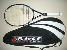 BABOLAT PURE DRIVE OS 110 TENNIS RACQUET 4 1/2 (NEW STRINGS) 2015