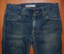 """JEANS LEVIS 511 """"Slim-fit"""" W32 L32 (FR t41 - t42) bleu foncé W31"""