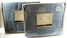 FLAT Sheet and FITTED Sheet 300 Thread Count - TWIN - GREY FLANNEL - Home Trends
