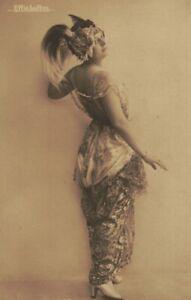 ME2971 FAMOUS EFFIE LOFTUS SINGER /ACTRESS ART NOUVEAU DRESSED FUNNY POSE
