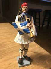 Greek - Aohna Athena Toy Soldier Holding a Bugle