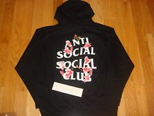 AntiSocial Social Club Asia Exclusive Hoody Black Size M L XL