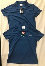 Lot Of Two - Nike Golf Shirt Womens Dri-Fit Size Large Connecticut New 354067