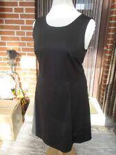 Schwarzes Jersey Kleid XL 44 46 48 H&M sexy Rücken breit.Träger Visko.Poly+Elast