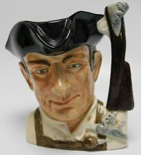 "Royal Doulton Large 7.5"" Character Toby Jug ""The Gunsmith of Williamsburg"" D6573"