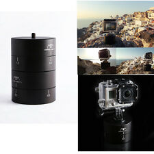 360 Degrees Rotating Time Lapse Stabilizer Tripod Adapter for Gopro DSLR Camera