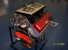500 c.i. BB Chevy Drag Race Engine - Dual Plug - Funnel Port