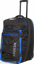 Stahlsac Jamaican Smuggler Scuba Diving Roller Travel Gear Bag Blue NEW!!!!
