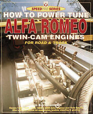 USED (LN) How to Power Tune Alfa Romeo Twin-Cam Engines for Road & Track (Speedp