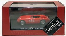 Nice 1/43 Starline Model Osca MT4 Mille Miglia 1956 Nurnberg Germany Maglioli