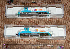 Micro-Trains N-Scale EMD GP-20 Engine # 985 00 206 Happy Birthday