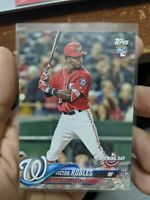 2018 Topps Opening Day Victor Robles (4x) Lot Washington Nationals RC