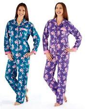 Fleece Floral Sleepwear for Women