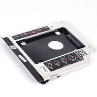 2nd HD SSD Hard Drive Caddy Adapter for Dell E6420 E6520 E6320 E6430 E6530 E6330