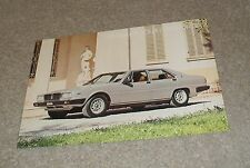 Maserati Quattroporte 2+2 Double Sided Brochure Flyer 1978-1980