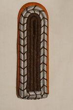 WW2 German Oberwachtmeister Polizei Police Shoulder Board Strap Single