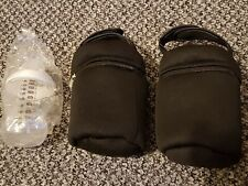 Tommee Tippee Closer to Nature Set Insulated Bottle Bag x2 + 260ml/9oz Bottle