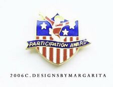 NEW! Participation Award Gymnastics Pin - #1527