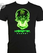 Monster Energy Designed Heavyweight T-shirts! All Sizes in Black