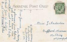 ISOLA di Man annullamento: 1911 CASTLETOWN DOPPIO CERCHIO-Thin Archi-su PPC