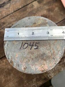 1045 Tool Steel 4 inch Diameter 5 1/2 inches long,1045 Steel bar