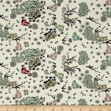 Mary Fons Small Wonders Japan In the Garden 100% cotton fabric by the yard