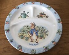 1996 Peter Rabbit 3-Compartment Plate