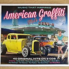2CD NEW - AMERICAN GRAFFITI - Rock & Roll Pop 50's 60's Music 2x CD Album