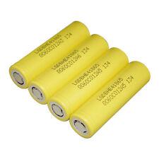 US ship 4PCS Original LG 2500MAH HE4 20A 18650 Battery Cell 3.7V Li-ion Battery