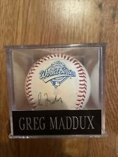 New listing greg maddux autographed baseball 1995 world Series