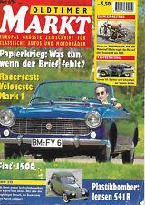 Oldtimer Markt  6/1994 - Fiat 1200 - Citroen GS/GSA - BMW 335 - Jensen 541 R