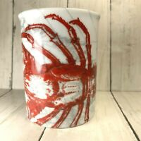 Australian Crayfish Coffee Cup Mug  Lobster M Studios Claws Red Gray Map