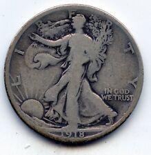 Walking Liberty half 1918-d (SEE PROMO)