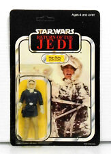 Star Wars Return of the Jedi Han Solo Hoth Battle Gear 1983 65 back unpunched